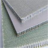 El panal de madera del grano del revestimiento de la pared exterior artesona el aluminio (HR244)