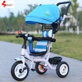 Triciclo ajustável do bebê da segurança do assento do estilo popular novo