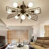 Lámpara pendiente del sector LED de la sala de estar de la barra circular moderna de la cafetería