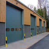 Porte industrielle sectionnelle de garage de porte de panneau de Doigt-Épreuve