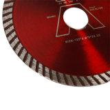 Tipo caliente diamante Turbo Hoja de sierra de corte de cerámica