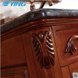 Governo di stanza da bagno di legno solido di Ying sul classico del bacino del marmo del pavimento