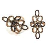 2017 de Nieuwe Echte Zilveren Juwelen van de Ring van de Steen van het Kristal van CZ van de AMERIKAANSE CLUB VAN AUTOMOBILISTEN van Manier 925 Mooie (R10752C)