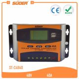Suoer 48V 40Aの太陽ホームシステム太陽エネルギーのコントローラ(ST-C4840)