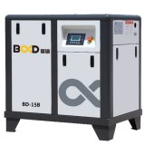 Compresor de aire industrial del tornillo del inversor de Bd-15b 11kw VSD