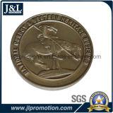 주물 아연 합금 도전 동전 3D 형 좋은 가격을 정지하십시오