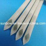 fibre de verre en caoutchouc de silicones 7kv gainant pour la ligne protection de câble