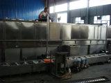 Stoom die het Automatische Pasteurisatieapparaat van de Tunnel verwarmen