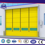 Porta de alta velocidade automática do rolamento da manufatura profissional para a sala de limpeza