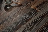 Suelo Heated dirigido ceniza de la madera dura del suelo de madera del color de Dlack