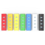 4 эпицентр деятельности USB 3.0 портов портативных с вспомогательным оборудованием периферийных устройств компьутера Splitter USB 5gbps