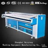 Máquina passando da lavanderia industrial de Flatwork Ironer do Dobro-Rolo da alta qualidade