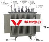 De olie Ondergedompelde Transformator van de ElektroMacht Transformer/S11-630kVA