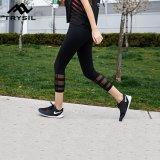 Tipo donne di usura di 2017 sport che eseguono i pantaloni pareggianti neri delle signore di Legging