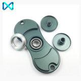 HS004 Fidget Spinner de aluminio EDC estilo juguetes del dedo de rodamiento cerámico