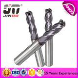 De stevige Spiraalvormige Snijder Van uitstekende kwaliteit van het Malen Carbid voor Aluminium