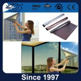 Vidrio del edificio que teñe la película solar de la ventana de la configuración del control