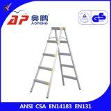 a-kader Kruk 5 Stappen ap-2105 van de Ladder van het Aluminium van het Huishouden