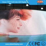 Im Freienmiete gebogene Bildschirmanzeige LED-P4.81 mit FCC