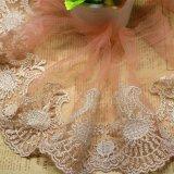 Merletto di nylon della maglia di immaginazione della guarnizione del ricamo del poliestere del merletto del commercio all'ingrosso 16cm della fabbrica del ricamo di riserva di larghezza per l'accessorio degli indumenti & tessile & tenda domestiche (BS1071)