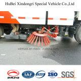 euro limpado Dongfeng compato 4 do caminhão da vassoura de estrada 5cbm