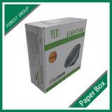 Caja de cartón de encargo de la impresión que empaqueta para la luz del LED