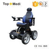 Escaleras de descanso desmontables plegables del asiento del respaldo que suben el sillón de ruedas eléctrico