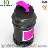 2.2L BPA освобождают пластичную бутылку трасучки протеина, оптовую бутылку воды спорта Tritan пластичную (HDP-3031)