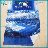 Рекламировать полотенце логоса печати велюра хлопка нестандартной конструкции