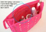 De Kosmetische Zak Zuid-Korea van de Zak van de Make-up van het Punt van de Golf van de Hand van de manier