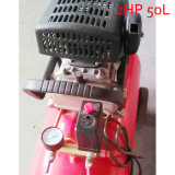 2HP 50L de Draagbare Compressor van de Lucht van de Schroef van de Zuiger van de Pomp van de Lucht