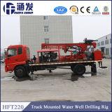 Foreuse montée par camion de puits d'eau en Chine