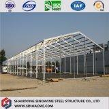 중국은 조립식 물결 모양 강철 창고 또는 작업장 또는 헛간 주문 설계한다