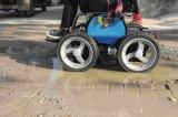 Topmedi faltbarer Treppen-Steigleistung-Rollstuhl für Behinderte