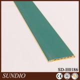 Materiales compuestos de plástico de madera Pared de protección decorativa para el dormitorio