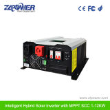 MPPTの充電器(GS1KW-6KW)が付いているハイブリッド太陽純粋な正弦波インバーター