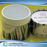 Contenitore di imballaggio impaccante di carta di lusso del vino del caffè del regalo del tubo (xc-ptp-008)