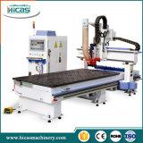 Router de cinzeladura de madeira do CNC da máquina 3D do melhor preço para a venda