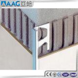 Ajuste de la esquina de aluminio anodizado del azulejo