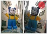 Pubblicità della mascotte gonfiabile C1-203 del personaggio dei cartoni animati dei gamberi