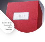 Астетическая подгонянная коробка упаковки вина MDF кожаный твердая