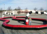 屋外の子供および大人のおかしく風変りなTrikesの膨脹可能な競技場