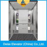 富士の品質の中国Vvvfの牽引のGearless別荘の乗客のホームエレベーター