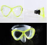 Tre mascherine d'immersione degli uomini e delle donne del silicone di colori,