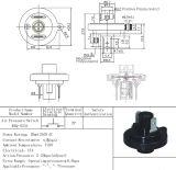 Interrupteur pneumatique basse pression avec gaz et air