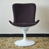 Cadeira de jantar baixa do Tulip branco distintivo para a sala de espera (SP-HC377)