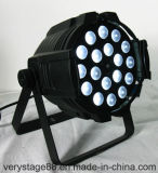 6in1 het PARI van het Gezoem PAR64 18X15W RGBWA+UV kan Licht wassen