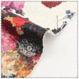 Большим ткань картины цветка напечатанная полиэфиром 100% шерстяная