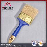 Высокое качество 50%PBT & щетинка 50% чисто с щеткой краски Ferrule пластичной ручки золотистой