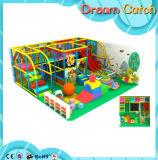Corrediça interna grande do campo de jogos de Playgroundr dos miúdos novos do projeto